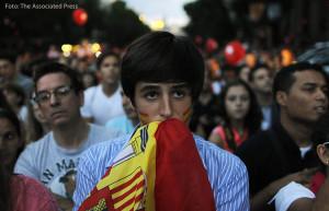 09-2013: Spanien trauert wegen der gescheiterten Bewerbung für Madrid 2020. Foto: The Associated Press